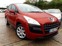 2010 PEUGEOT 3008 1.6 ACTIVE HDI 5d AUTO 112 BHP £5995.00