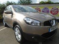 2011 NISSAN QASHQAI 1.6 ACENTA 5d 117 BHP £6999.00