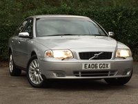 USED 2006 06 VOLVO S80 2.4 LUXURY SE D5 4d AUTO 161 BHP