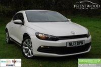 USED 2013 13 VOLKSWAGEN SCIROCCO 2.0 TDi GT BLUEMOTION TECHNOLOGY DSG [AUTO] 140 BHP