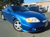 USED 2004 S HYUNDAI S-COUPE 2.0 2.0I SE 3d AUTO 141 BHP PRIVATE PLATE INCLUDED+NEW MOT