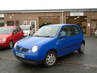 2003 VOLKSWAGEN LUPO 1.4 E 3d 74 BHP £995.00