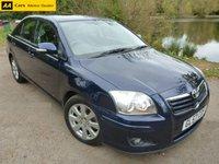 2007 TOYOTA AVENSIS 1.8 TR VVT-I 5d AUTO 128 BHP £3595.00
