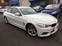2014 BMW 4 SERIES 2.0 420I M SPORT 2d AUTO 181 BHP £19499.00