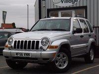 2006 JEEP CHEROKEE 3.7 LIMITED V6 5d AUTO 201 BHP £4995.00