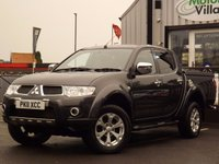 2011 MITSUBISHI L200 2.5 DI-D 4X4 BARBARIAN LB DCB 1d 175 BHP NO VAT ON THIS VEHICLE £10995.00