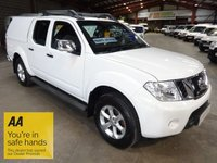 """USED 2014 14 NISSAN NAVARA 2.5 DCI TEKNA 4X4 SHR DCB 188 BHP  ONE OWNER LOW MILEAGE """"YOU'RE IN SAFE HANDS"""" - AA DEALER PROMISE"""