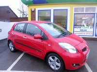 USED 2010 10 TOYOTA YARIS 1.3 TR VVT-I MM 5d AUTO 99 BHP JUST ARRIVED TEST DRIVE TODAY..FINANCE AVAILABLE