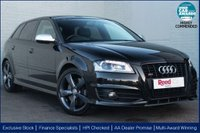 USED 2012 62 AUDI S3 2.0 S3 SPORTBACK TFSI QUATTRO BLACK EDITION 5d AUTO 265 BHP CRUISE +LEATHER +NAV +S TRONIC