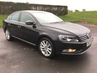 2014 VOLKSWAGEN PASSAT 2.0 EXECUTIVE TDI BLUEMOTION TECHNOLOGY DSG 4d AUTO 139 BHP £10995.00