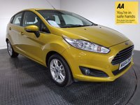 USED 2014 64 FORD FIESTA 1.6 ZETEC 5d AUTO 104 BHP VERY LOW MILES - ONE OWNER - FULL SERVICE HISTORY - LIKE NEW CONDITION - BLUETOOTH AUX / USB