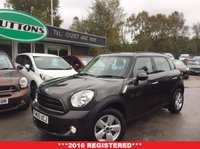 2016 MINI COUNTRYMAN 1.6 COOPER 5d 122 BHP £12989.00