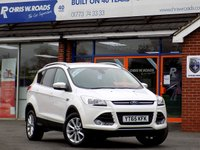 USED 2015 65 FORD KUGA 2.0 TDCi TITANIUM 5dr (150) APPEARANCE PACK *ONLY 9.9% APR with FREE Servicing*