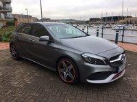 2015 MERCEDES-BENZ A CLASS 2.0 A 250 AMG PREMIUM 5d AUTO 215 BHP £24995.00