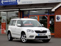 USED 2014 64 SKODA YETI 1.6 TDi ELEGANCE GREENLINE II CR Leather & Nav