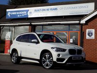 USED 2015 65 BMW X1 2.0 XDRIVE20D SPORT 5dr AUTO (188) * Nav & Leather * *ONLY 9.9% APR with FREE Servicing*
