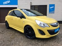 USED 2012 12 VAUXHALL CORSA 1.2 LIMITED EDITION 3d