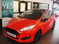 2015 FORD FIESTA 1.0 ZETEC S RED EDITION 3d 139 BHP £9495.00