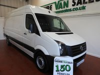 USED 2017 17 VOLKSWAGEN CRAFTER 2.0 CR35 TDI  BMT 140 BHP LWB 4 IN STOCK BALANCE OF VW WARRANTY UNTIL 2020