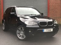 USED 2012 12 BMW X5 3.0 XDRIVE30D M SPORT 5d AUTO 241 BHP ONLY 2 OWNER CAR+LOW MILES CAR