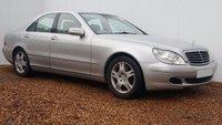 2005 MERCEDES-BENZ S CLASS 3.2 S320 CDI 4d AUTO 204 BHP £4999.00
