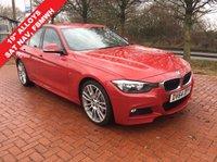 2014 BMW 3 SERIES 2.0 320D M SPORT 4d AUTO 181 BHP £15990.00
