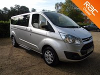 2014 FORD TOURNEO CUSTOM