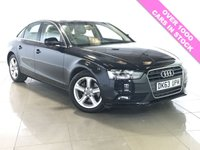 USED 2013 63 AUDI A4 2.0 TDI SE TECHNIK 4d AUTO 148 BHP LEATHER / SAT NAV / DAB