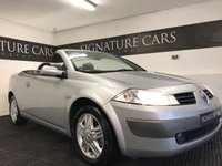 USED 2006 55 RENAULT MEGANE 2.0 PRIVILEGE T COUPE CABRIOLET 2d 165 BHP