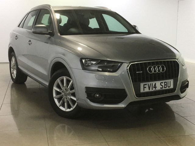 View our 2014 14 AUDI Q3 2.0 TDI QUATTRO SE 5d 138 BHP