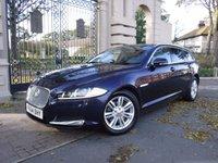 2014 JAGUAR XF 2.2 D LUXURY SPORTBRAKE 5d AUTO 163 BHP £16995.00