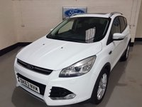 USED 2013 63 FORD KUGA 2.0 TITANIUM X TDCI 5d 138 BHP Auto Park/Pan Roof/Camera/Power Boot/Heated Leather/Nav