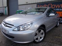 USED 2004 PEUGEOT 307 2.0 COUPE CABRIOLET 2d 135 BHP Superb Value Coupe Convertible