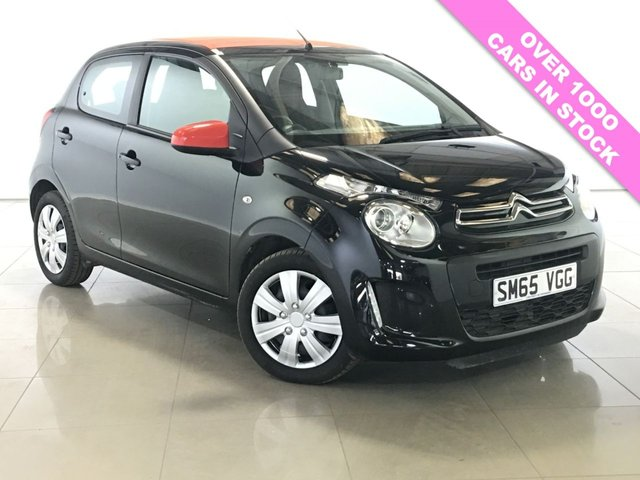 View our 2015 65 CITROEN C1 1.2 PURETECH AIRSCAPE FEEL 5d 82 BHP