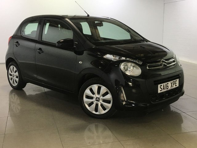 View our 2016 16 CITROEN C1 1.2 PURETECH FEEL 5d 82 BHP