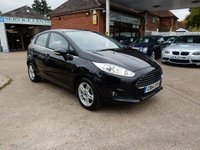 USED 2014 14 FORD FIESTA 1.2 ZETEC 5d 81 BHP FULL HISTORY,TWO KEY'S,BLUETOOTH,USB AND AUX PORT