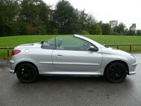 USED 2006 06 PEUGEOT 206 1.6 CC ALLURE 2d 108 BHP Great history,Low miles,Superb