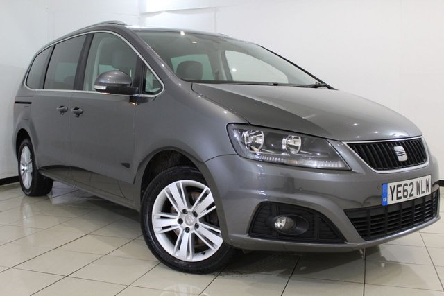 View our 2012 62 SEAT ALHAMBRA 2.0 SE CR TDI ECOMOTIVE 5DR 170 BHP