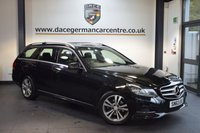 USED 2014 63 MERCEDES-BENZ E CLASS 2.1 E220 CDI SE 5DR AUTO 168 BHP + FULL BLACK LEATHER INTERIOR + FULL MERC SERVICE HISTORY + SATELLITE NAVIGATION + BLUETOOTH + HEATED COMFORT SEATS + DAB RADIO + CRUISE CONTROL + PARKING SENSORS + 18 INCH ALLOY WHEELS +