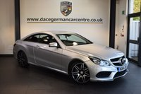 USED 2014 64 MERCEDES-BENZ E CLASS 2.1 E250 CDI AMG SPORT 2DR AUTO 204 BHP + HALF BLACK LEATHER INTERIOR + FULL MERC SERVICE HISTORY + 1 OWNER FROM NEW + SATELLITE NAVIGATION + BLUETOOTH + HEATED SPORT SEATS + DAB RADIO + CRUISE CONTROL + PARKING SENSORS + 19 INCH ALLOY WHEELS +