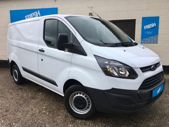 2016 FORD TRANSIT CUSTOM 2.2 290 L1H1 2.2 TDI Panel Van £10750.00