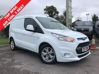 USED 2015 15 FORD TRANSIT CONNECT 1.6 200 LIMITED P/V 1d 115 BHP 3 Seat, Air Con, 115 BHP, Top Spec, Low Mileage.