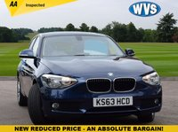 USED 2013 63 BMW 1 SERIES 2.0 118D SE 2.0d automatic A 1 owner low mileage automatic 5 door model with BMW service history