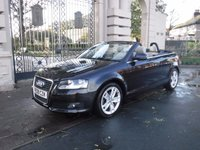 USED 2009 09 AUDI A3 CABRIOLET 1.6 MPI SPORT 2d 101 BHP ****FINANCE ARRANGED***PART EXCHANGE***FULL LEATHER***ELECTRIC ROOF**DRL LIGHTS**