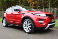 USED 2012 62 LAND ROVER RANGE ROVER EVOQUE 2.2 SD4 DYNAMIC 5d AUTO 190 BHP A STUNNING HIGH SPECIFICATION EVOQUE WHICH HAS HAD ONE PREVIOUS OWNER!!!