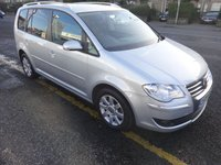 USED 2009 09 VOLKSWAGEN TOURAN 2.0 SPORT TDI 5d 138 BHP PRICE INCLUDES A 6 MONTH AA WARRANTY DEALER CARE EXTENDED GUARANTEE, 1 YEARS MOT AND A OIL & FILTERS SERVICE. 12 MONTHS FREE BREAKDOWN COVER.