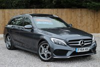 USED 2014 64 MERCEDES-BENZ C CLASS 2.1 C250 BLUETEC AMG LINE PREMIUM PLUS 5d AUTO 204 BHP ***FULL LEATHER*** ***SATELLITE NAVIGATION*** ***PANORAMIC ROOF***