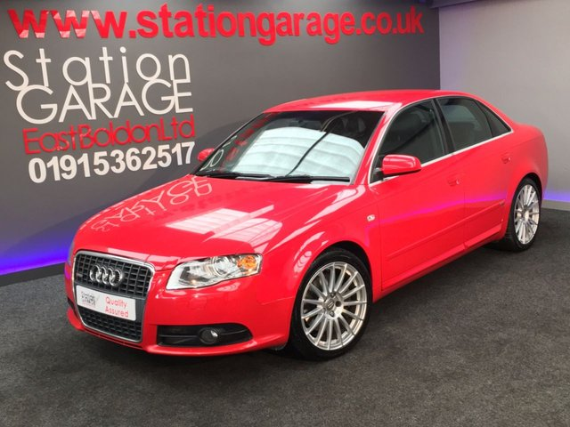 2006 56 AUDI A4 2.0 T QUATTRO S LINE SPECIAL EDITION 4d 217 BHP FULL LEATHER
