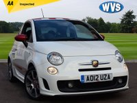 2012 ABARTH 500 1.4 ABARTH with red leather £7899.00