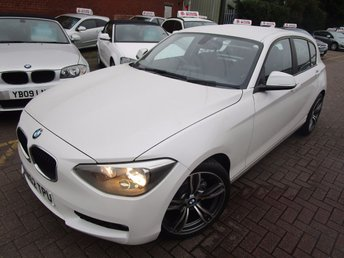2013 BMW 1 SERIES 1.6 116D EFFICIENTDYNAMICS 5d 114 BHP £8990.00